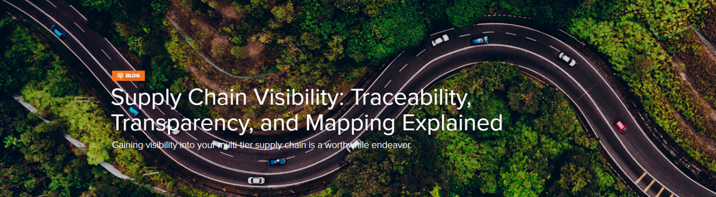 Supply Chain Visibility: Traceability, Transparency, and